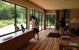 いい雰囲気のオープンハウスでした。