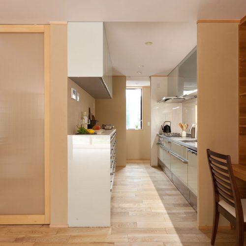 ゆったりとしたキッチン